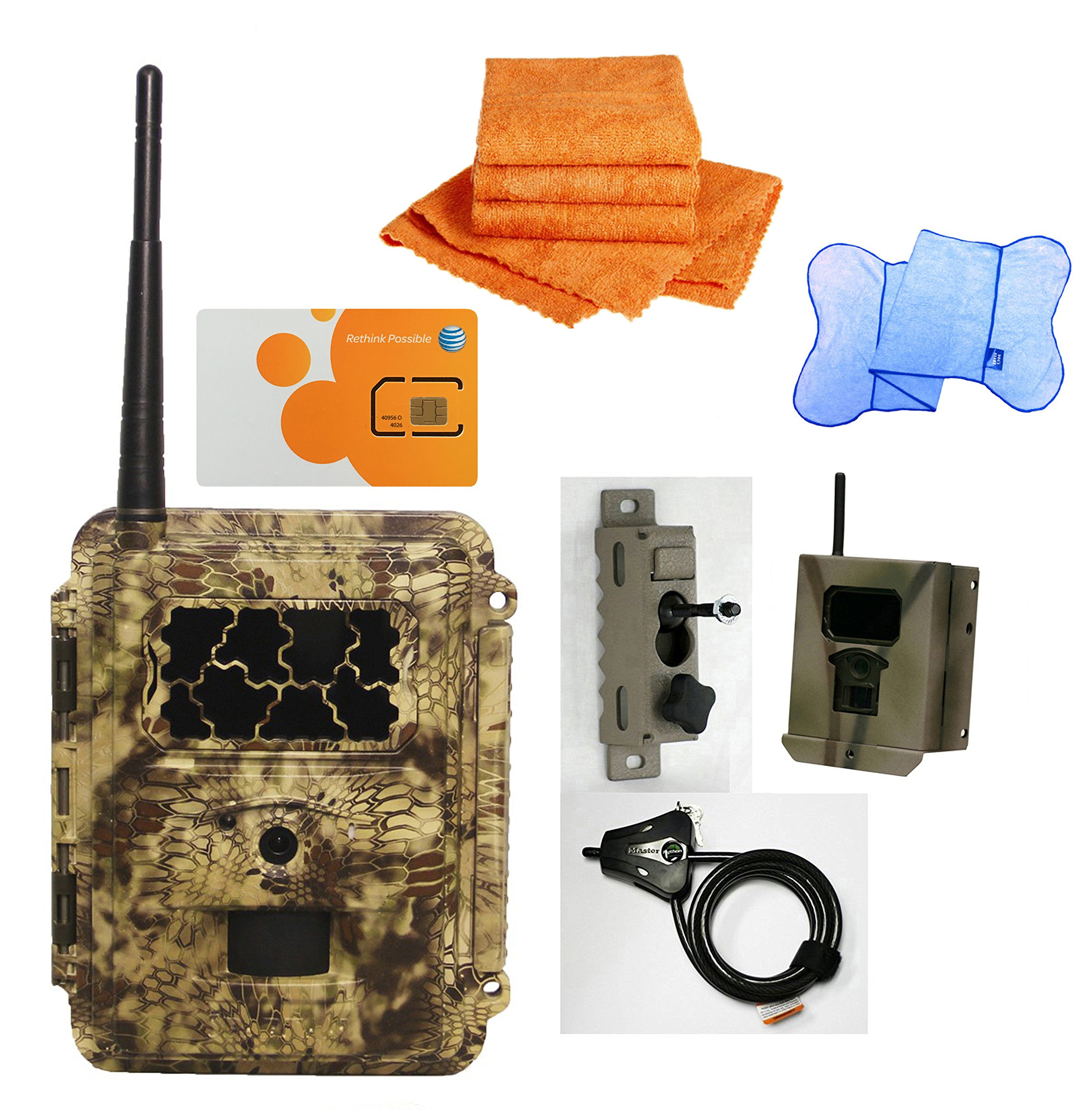 Spartan HD GoCam Deluxe Package Deal (2-year warranty) (AT&T, Blackout Infrared) by HCO Outdoor Products (Image #1)