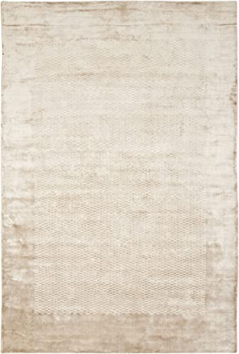 Safavieh Mirage Collection MIR721C Hand-Knotted Taupe Wool Area Rug 8 x 10