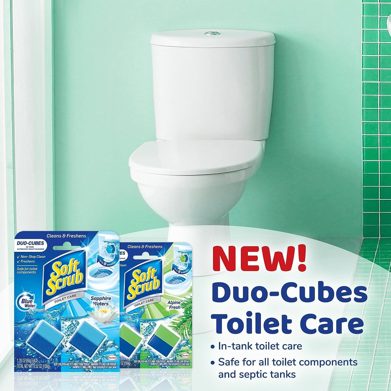 Amazon.com: Soft Scrub In-Tank Toilet Cleaner Duo-Cubes, Alpine ...