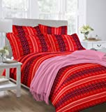 Bombay Dyeing Engracia Double Bedsheet with 2 Pillow Covers