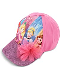 1873d27dee983 Disney Little Girls Princess Characters Cotton Baseball Cap