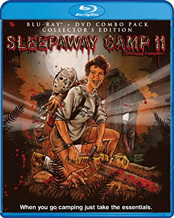 Sleepaway Camp II Unhappy Campers Collectors Edition Bluray DVD Combo