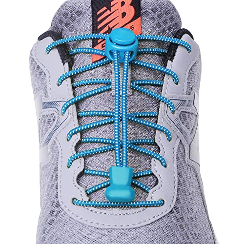 6daa1695843c5 No tie elastic reflective shoe laces for Kids and Adults, Best Lock Shoe  laces for Running and Walking Shoes(3 pairs)