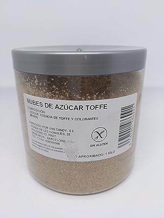 Algodón Nubes de Azúcar toffe 1 Kg: Amazon.es: Alimentación y bebidas