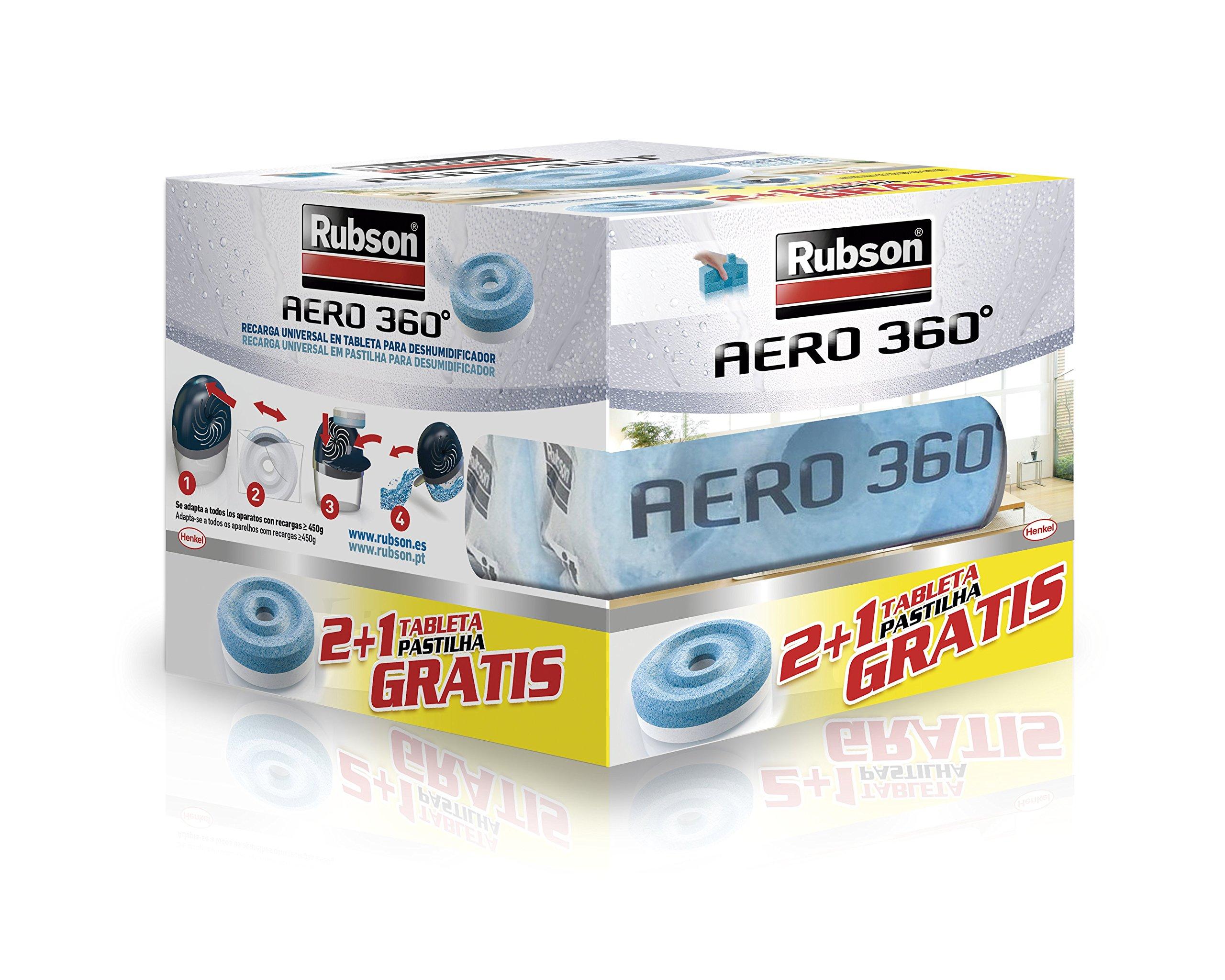 Rubson 2178378 Tabletas De Recambio Set de 3 Piezas product image