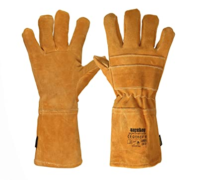 Safetop G131Cf - Camden. guante soldador costuras kevlar comfort l35cm t-11