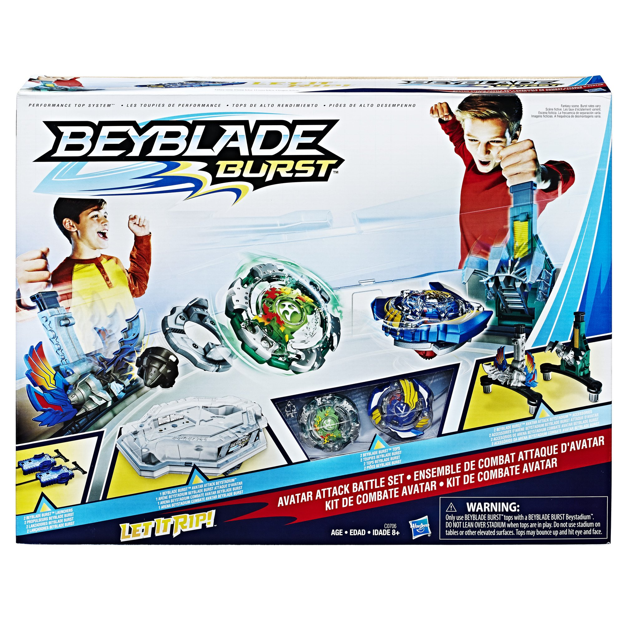 BEYBLADE Burst Avatar Attack Battle Set (Amazon Exclusive) by BEYBLADE (Image #1)