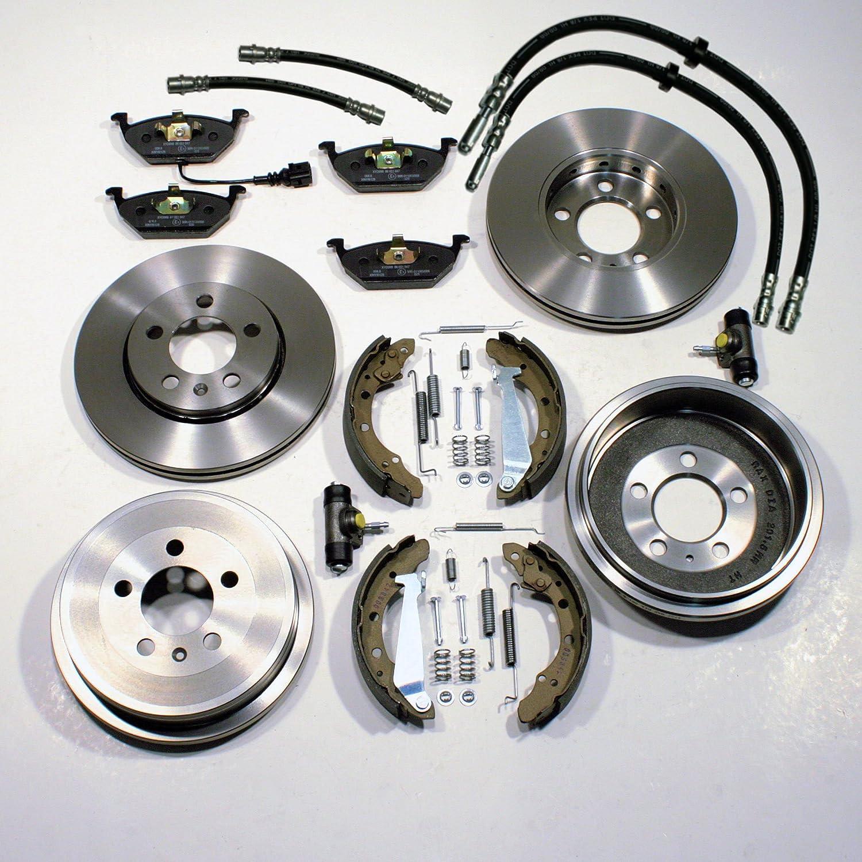 Zubeh/ör hinten Bremsscheiben Bremstrommeln Bremsbel/äge vorne Radbremszylinder Bremsschl/äuche vorne hinten Bremsbacken