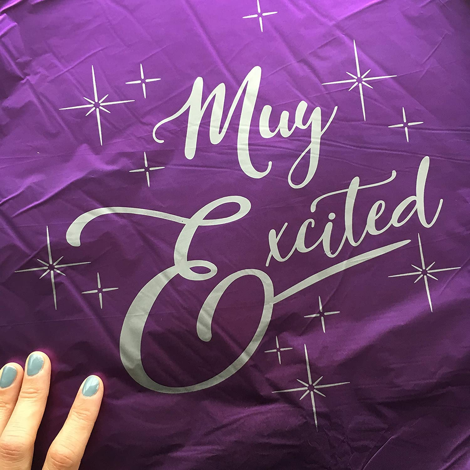Muy Excited Balloons Pack of 3