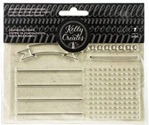 Kelly Creates Journaling Stamps, Clear