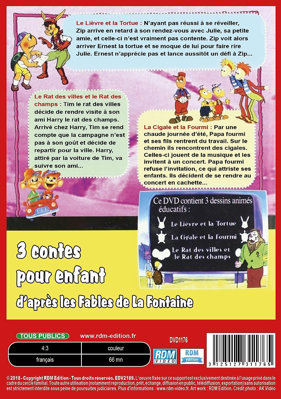 Amazon Com 3 Contes Pour Enfant Daprès Les Fables De La Fontaine