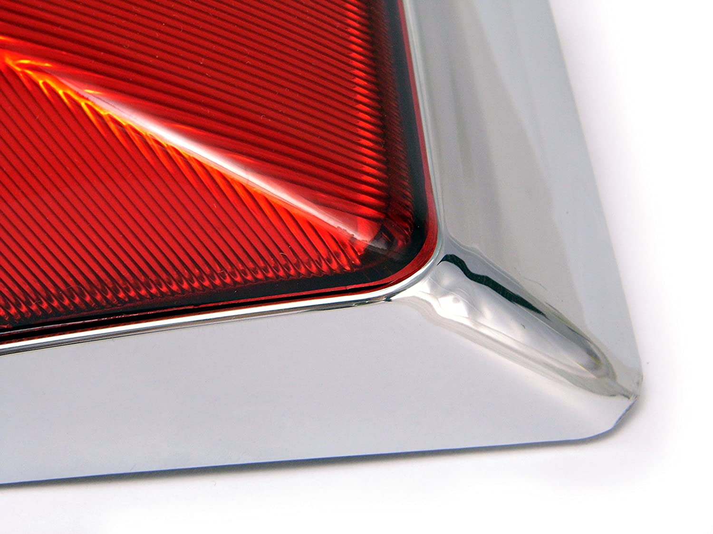 retro design chrome for Vespa PX 125//150 // 200 High quality rear light