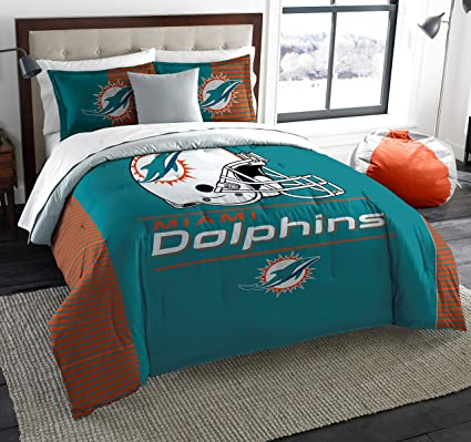 Amazon Com The Northwest Company Miami Dolphins King Comforter And