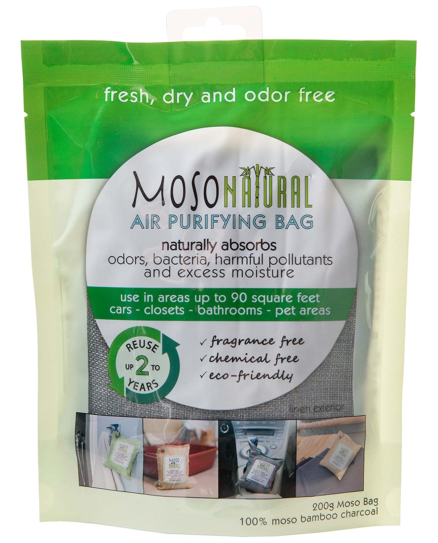 Amazon.com: Moso Natural Air Purifying Bag. Odor Eliminator for Cars ...