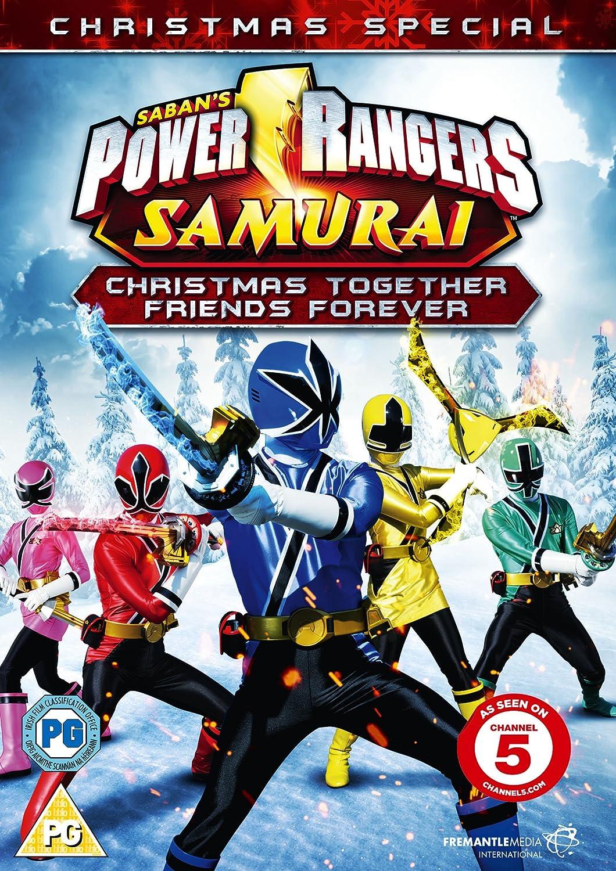 Power Rangers Samurai: Christmas Together, Friends Forever DVD Reino Unido: Amazon.es: Alex Heartman, Najee De-Tiege, Erika Fong, Hector David Jr., ...