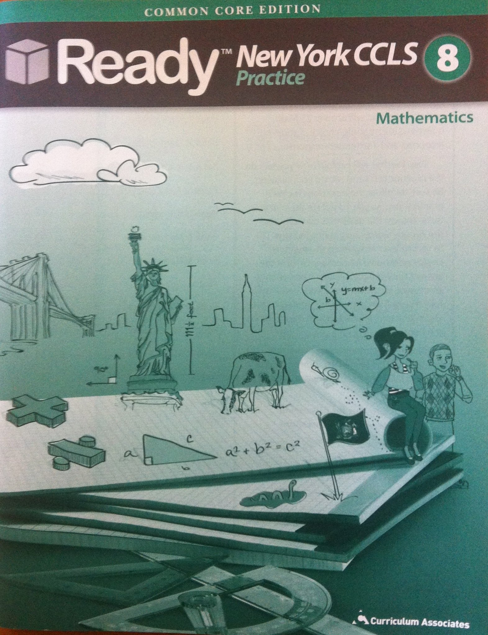 New York Ready CCLS Practice 8th grade mathematics. by Common Core ...