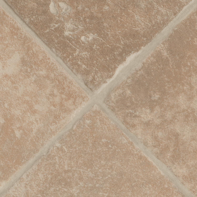 200 Fliesenoptik diagonal beige 300 und 400 cm Breite verschiedene Gr/ö/ßen PVC Bodenbelag Steinoptik Gr/ö/ße: 3,5 x 4 m Meterware