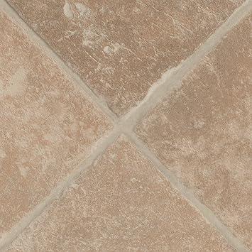 PVC Bodenbelag Steinoptik | Fliesenoptik diagonal beige | 200, 300 ...