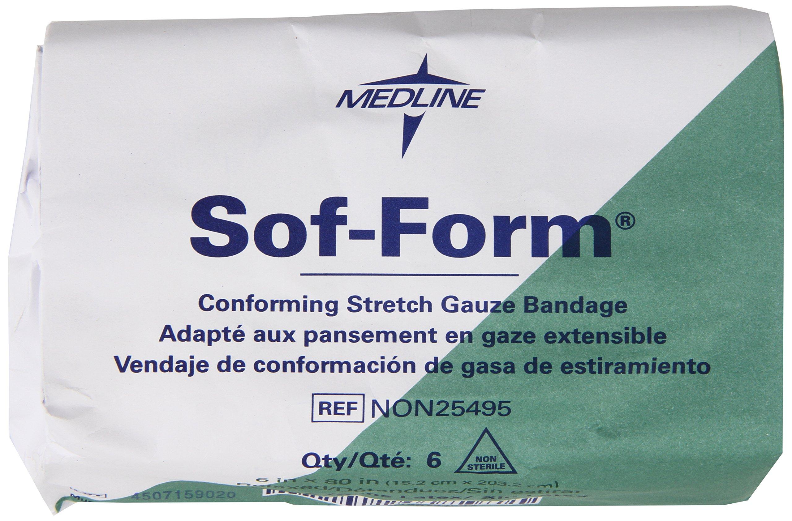 Medline Non-sterile Sof-form Conforming Bandages, 48 Count by Medline