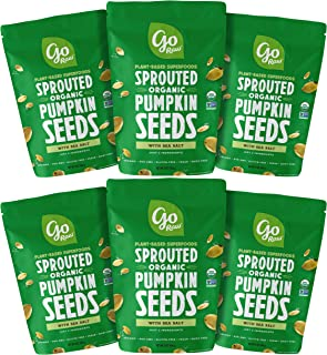 product image for Go Raw Sprouted Pumpkin Seeds (Pack of 6)