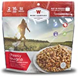 6ct Pack - Outdoor Cheesy Lasagna - 2 Serving Pouch Camping,hiking,travel