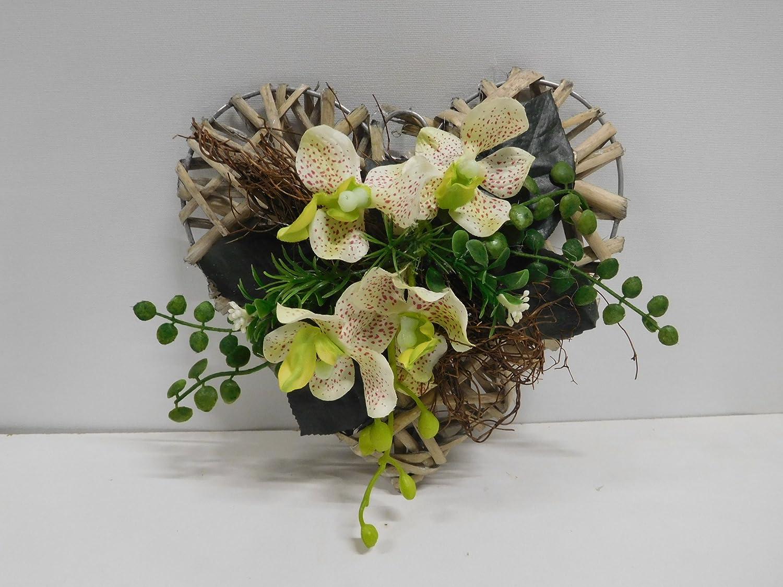 Ziegler Rattanherz Orchideen Orchideengesteck Turdeko Tischgesteck