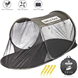 Dimples Excel Single Instant Pop Up Mosquito Net Automatic Self-expanding Tent for Outdoor, Beach, Hiking, Traveling, Backyard, Backpacking