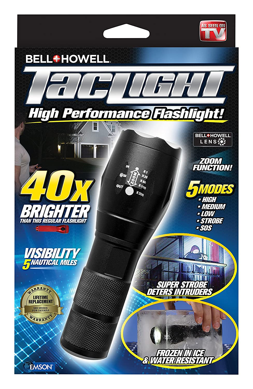 and light flashlight as atomic review watch on bell tv howell seen taclight beam clone lighting tac preppers
