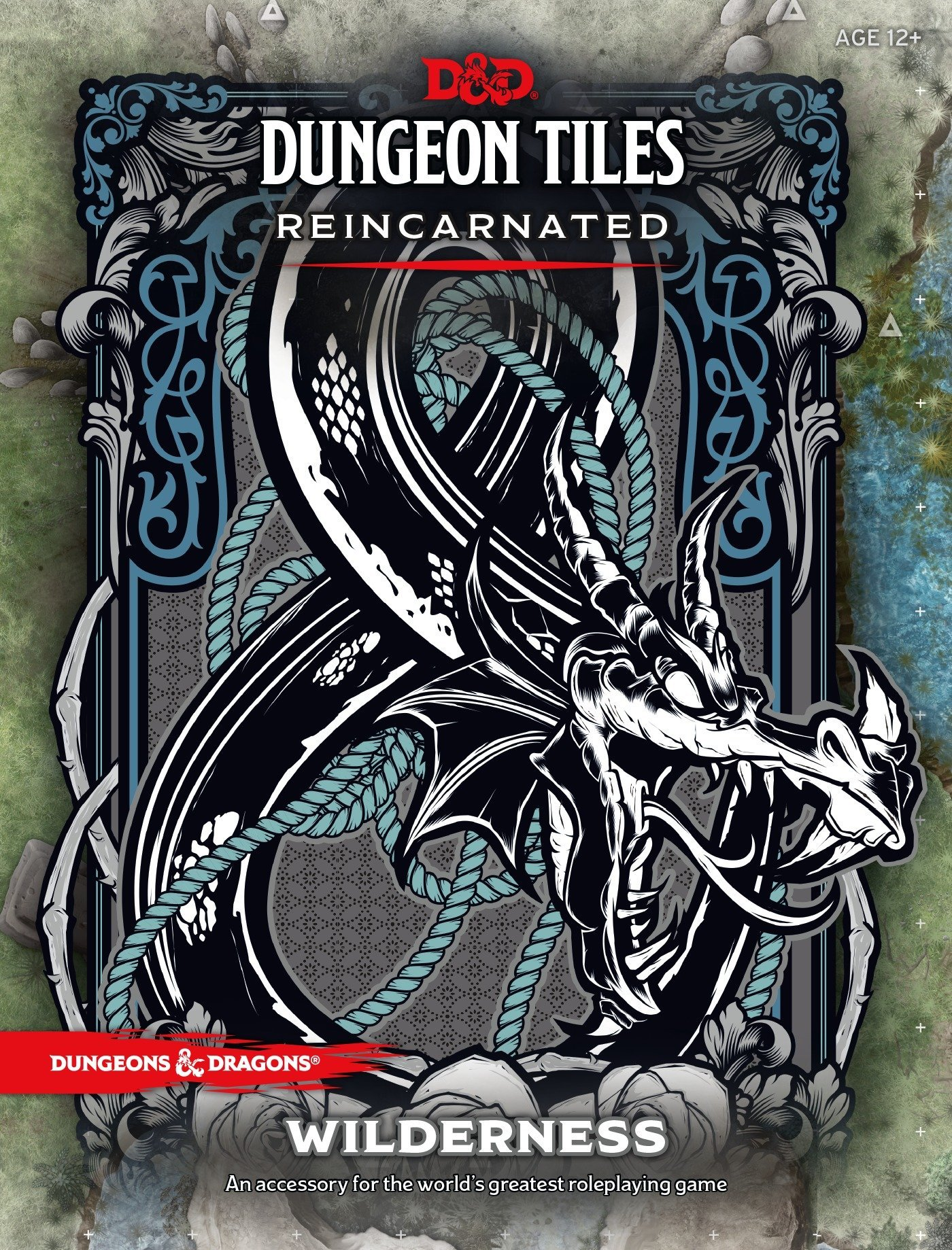 D&D DUNGEON TILES REINCARNATED: WILDERNESS by Dungeons & Dragons