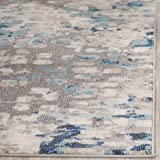 Safavieh Monaco Collection Grey and Light Blue