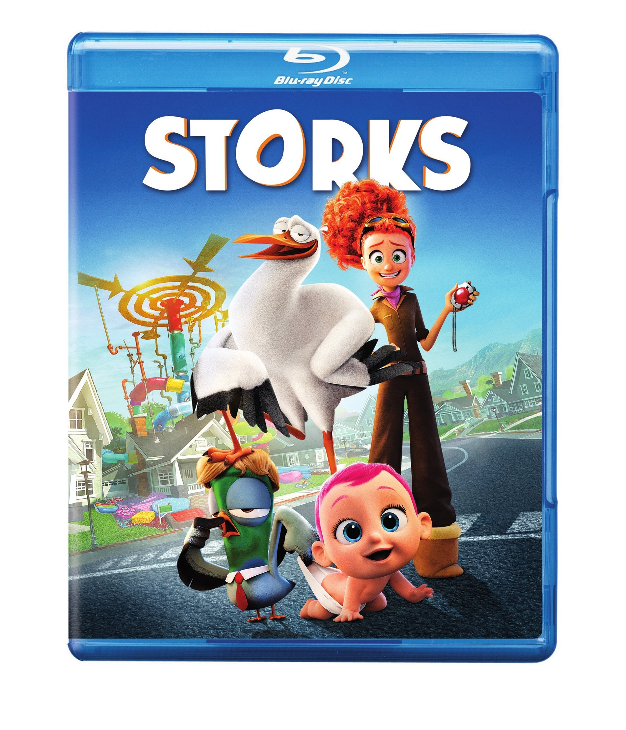 Blu-ray : Storks (With DVD, Ultraviolet Digital Copy, AC-3, , Digital Theater System)