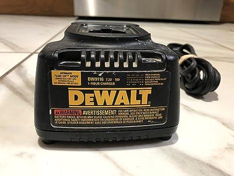 Amazon.com: DeWalt DW9116 (2 unidades de repuesto 7.2-volt ...