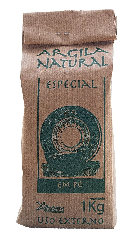 Argila Natural Em Pó–Argile Verte Française–Poudre pour Masques et gommage–100% naturel–1kg Provida French Green Clay 1Kg