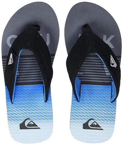 Molokai Highline Slab, Tongs Homme, Multicolore (Black/Blue/Grey-Combo Xkbs), 45 EUQuiksilver