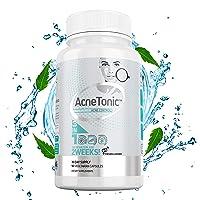 Acne Treatment Vitamin Supplements for Men, Women & Teens - Pomegranate Extract, Non-GMO Grape Seed, Neem Powder & Bioperine - Acne, Pimples, Oily Skin - 90 Vegan Capsules