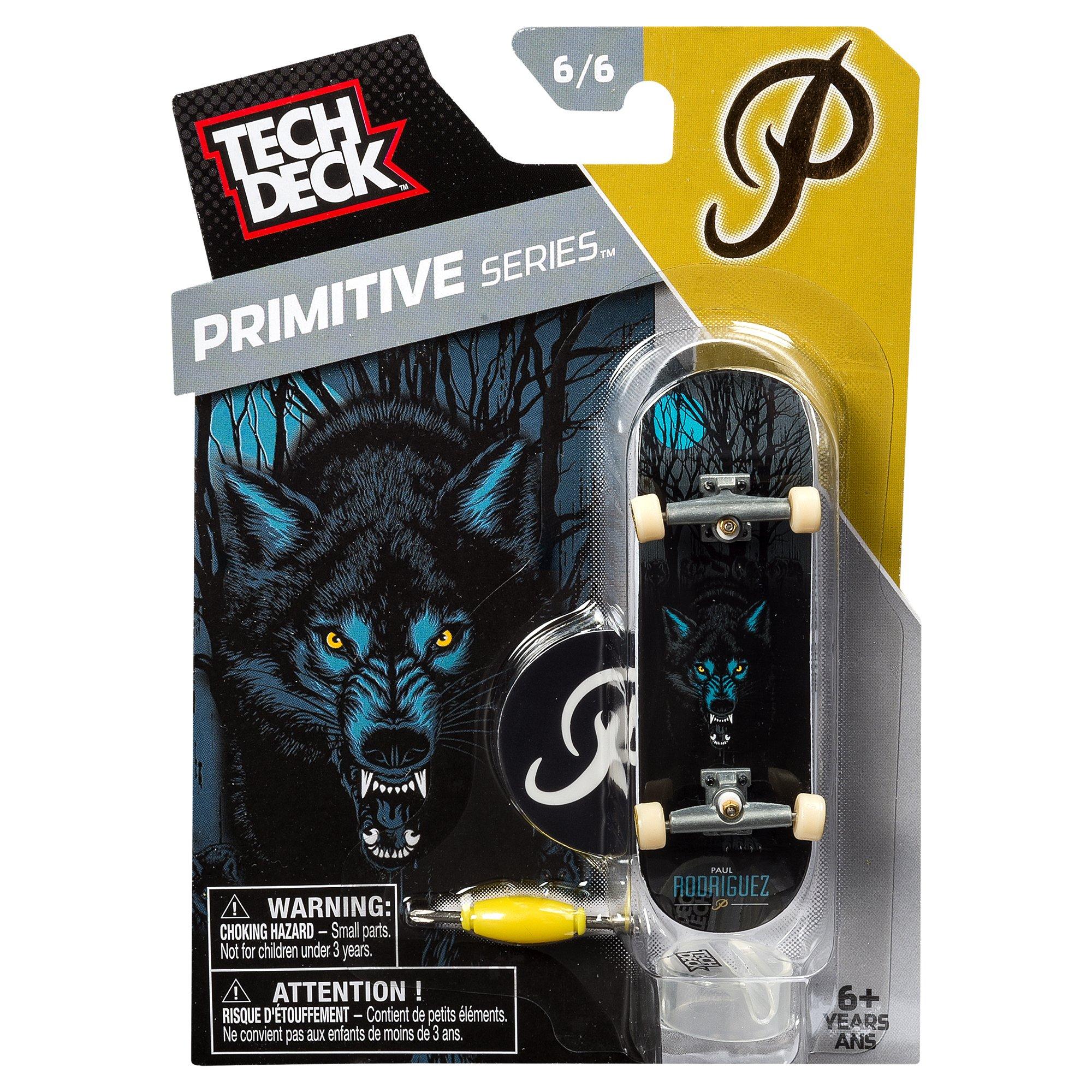 TECH DECK (Tech deck) 96mm VOL.8 / Primitive / Paul Rodriguez Wolf 20052955