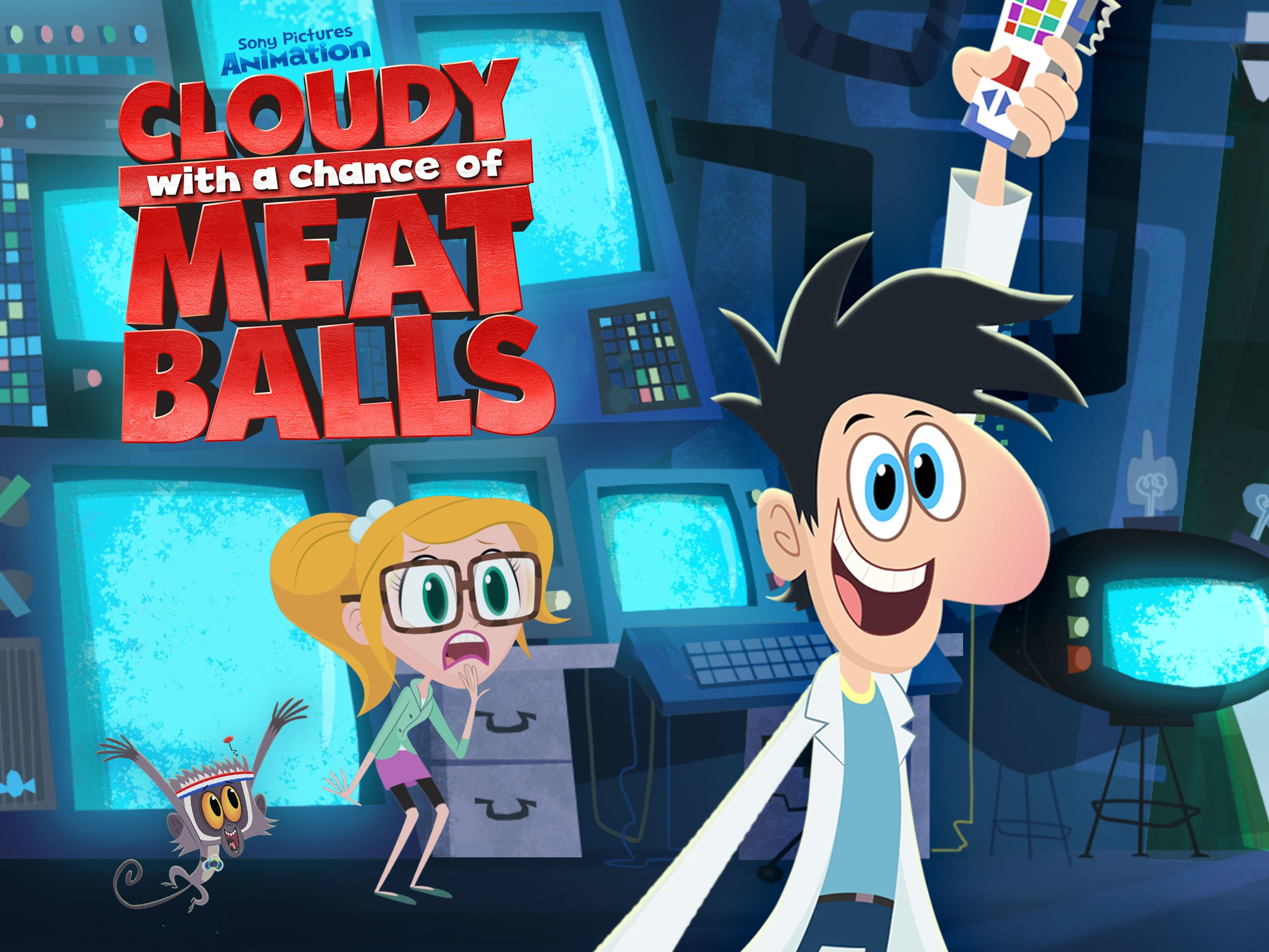 Watch Cloudy With A Chance Of Meatballs Season 4 Prime Video