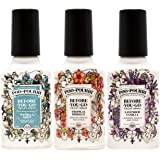 Poo-Pourri Lavender Vanilla, Tropical Hibiscus and Vanilla Mint 4-Ounce Set