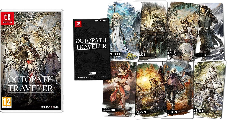 Octopath Traveler - Edición estándar + Cartas coleccionables: Amazon.es: Videojuegos