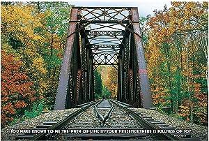 Railroad Vbs Train Track Bckdrp Bnnr - Party Decor - 3 Pieces
