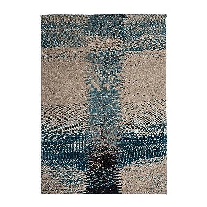 Tapis vintage tissé à plat fait à la main Polyester moderne ...