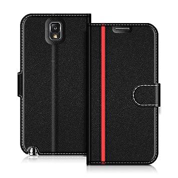 best quality c0304 926e5 COODIO Samsung Galaxy Note 3 Case, Galaxy Note 3 Leather Case, Samsung  Galaxy Note 3 Wallet Case, Stylish Magnetic Closure Flip Folio Case Cover  ...