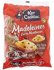 Ker Cadélac 16 Madeleines aux Pépites de Chocolat 400 g
