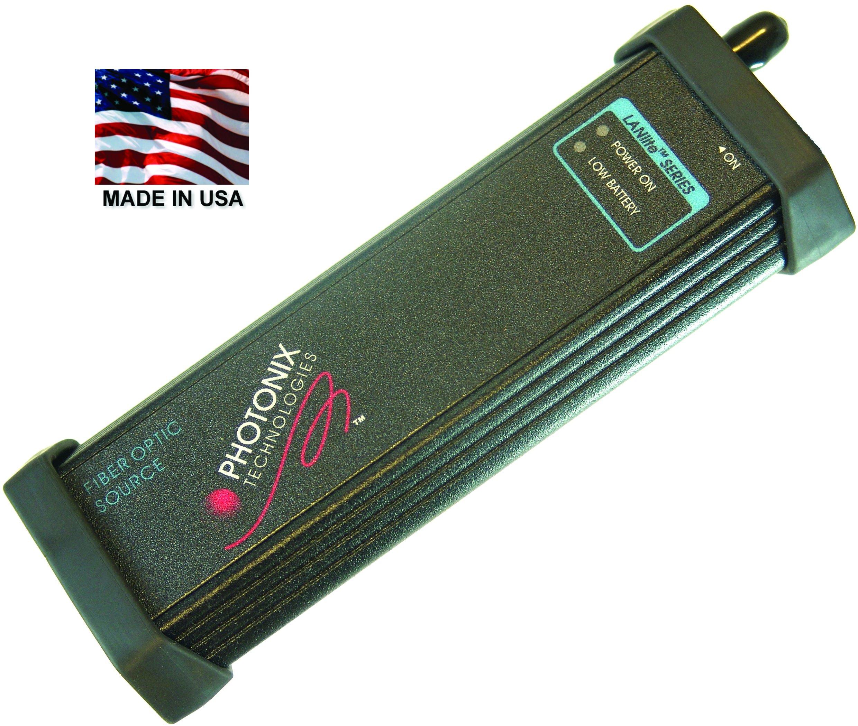 Visual Fault Locator (VFL), PX-C110-ST, Fiber continuity tester, 635nm, ST Port, Fiber optic, Made in USA