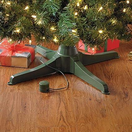 Amazon.com: BrylaneHome Musical Rotating Christmas Tree Stand: Home ...