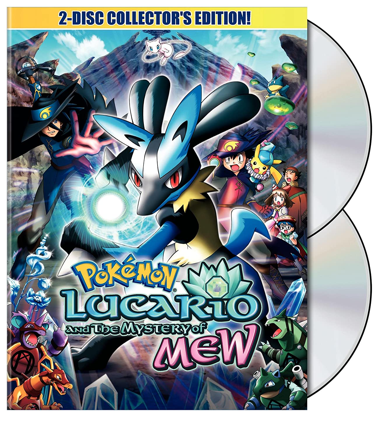 Amazon Com Pokemon Movie Lucario And The Mystery Of Mew Various Various Movies Tv