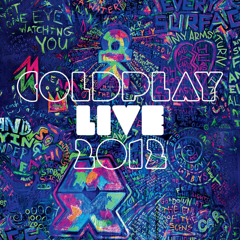CD : Coldplay - Live 2012 (2 Discos) [Blu-Ray]