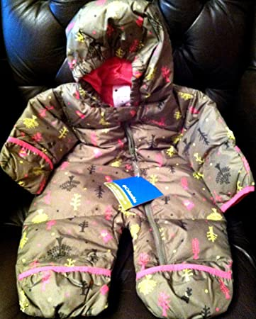 1f6484959612 Amazon.com  One Piece Snowsuit Columbia Snuggly Bunny Down Bunting ...