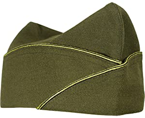 7d03bbb4005 WW2 Reproduction US Army Officers American Infantry Overseas Garrison Side  Cap