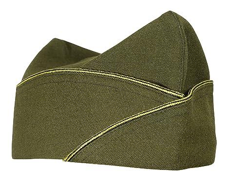 c08fda867ec55f WW2 US Army American Military Infantry Overseas Garrison Side Cap -  Officers (S)